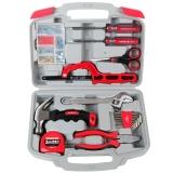 萬克寶(WORKPRO)W1117 家用工具套裝多功能物業維修手動工具箱 17件五金工具組套