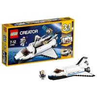 乐高 玩具 创意百变组  Creator 7岁-12岁 航天飞机探险家 31066 积木LEGO
