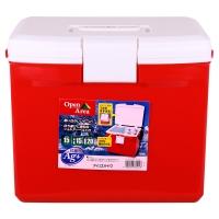 愛麗思(IRIS)車載保溫箱冷藏箱 15升 CL-15 紅色