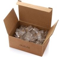 dostyle NC103超五类8P8C网络水晶头100个/盒
