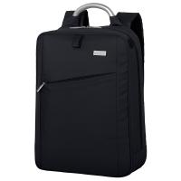 法国乐上(LEXON) 电脑包 男女款商务14英寸笔记本背包时尚休闲双肩包 LN1013N5 蓝黑