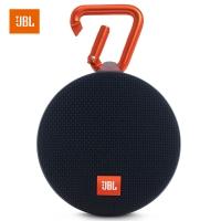 JBL Clip2 音乐盒2 蓝牙便携音箱 音响 户外迷你小音响 音箱 防水设计 高保真无噪声通话 黑色