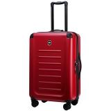 维氏VICTORINOX瑞士军刀箱包 斯派克2.0万向轮拉杆箱 26.7吋旅行行李箱哑光磨砂面密码硬箱31318403红色