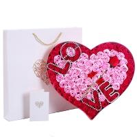 I'M HUA HUA99朵香皂花玫瑰花禮盒裝LOVE款保鮮花速遞圣誕節生日禮物情人節送女生女友