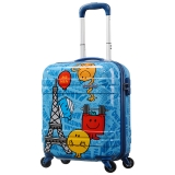 美旅箱包(AmericanTourister)AT3*81009 MMLM儿童拉杆箱蓝色 四轮旋转拉杆箱18英寸