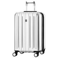 法国大使(Delsey)商务出行拉杆箱28英寸PC旅行箱可扩容行李箱男女万向轮银灰色073
