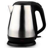 得力(deli) 0764 辦公家用電水壺 不銹鋼電熱水壺 1.8L 自動斷電