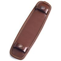白金汉(Billingham)SP40 皮质肩带 舒适防滑肩垫 巧克力色皮