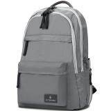 维氏VICTORINOX瑞士军刀箱包 埃蒙特3.0双肩包 休闲书包 防水户外背包32388404灰色