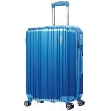美旅AmericanTourister拉杆箱 男女商务静音飞机轮行李箱大容量可扩展 24英寸TSA海关锁旅行箱79B蓝色