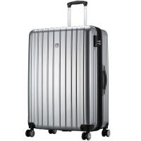 爱华仕(OIWAS)飞机轮拉杆箱6182 商务出差旅行箱 男女休闲旅游登机箱20英寸灰色