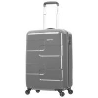 美旅AmericanTourister几何设计万向轮男女拉杆箱旅行箱67Q*18001炭灰色21英寸