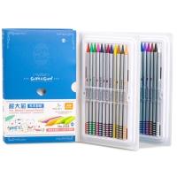 真彩(TrueColor)2335-24 超大全芯无木彩色铅笔 24色