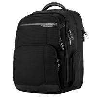 新秀丽(Samsonite)多功能商务背包女双肩包旅行电脑包15英寸36B*09005 黑色