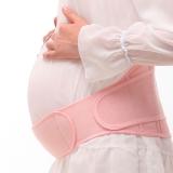 贝莱康(Balic) 孕妇专用托腹带 孕期护腰保胎带 监护保胎带 粉色 均码