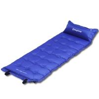 康尔KingCamp自动充气垫 加宽多点式户外露营垫子 防潮垫 可拼接KM3560深蓝