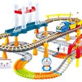 益米(YIMI)哆啦A梦 玩具车托马斯 新年礼物送儿童 小火车头套装赛车轨道汽车 儿童玩具 轨道车