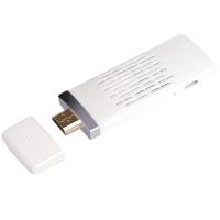 弗吉凯柏(cabos)F04902 无线同屏器hdmi推送宝miracast wifi手机视频收发ezcast传输器  单核(wifi2.4G)白色