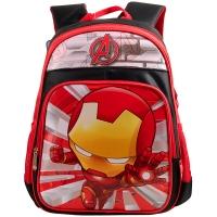 迪士尼(Disney)BA5023B Q版钢铁侠小学生书包男//1-3年级红色