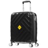 美旅箱包(AmericanTourister)DULUTH系列简约商务硬箱旅行箱拉杆箱万向轮BH9*09001黑色20英寸