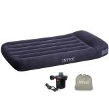 INTEX 内置枕头充气床垫 露营气垫床 折叠床单人99*191*30