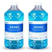 長城世喜 汽車防凍玻璃水四季通用型2L -42度以上環境使用 除霜除冰玻璃水 2瓶裝