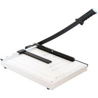 得力(deli) 8013 钢质切纸机/切纸刀/裁纸刀/裁纸机 380mm*300mm