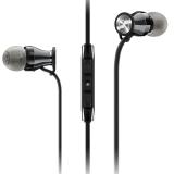 森海塞尔(Sennheiser)MOMENTUM In-Ear I Black Chrome 馒头入耳式耳机 手机耳机 黑铬色 苹果版