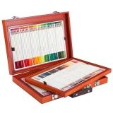 真彩(TRUECOLOR)2399特丽系列专业油性彩色铅笔108色 1盒
