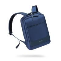 新秀丽(Samsonite)双肩包背包 商务休闲书包笔记本包 男女款苹果电脑包 15.6英寸 BU1*41001 蓝色