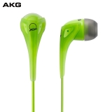 AKG Q350 立体声入耳式耳机 手机耳机 苹果三键线控手机通话耳机 绿色