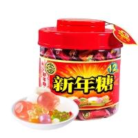 徐福记 什锦糖 新年糖桶 婚庆喜糖桶 糖果 送礼礼盒礼桶 550g