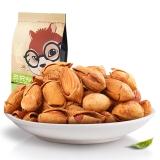 三只松鼠坚果炒货零食特产奶香味手剥巴旦木235g/袋