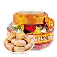 徐福记 酥心糖桶 酥糖婚庆喜糖果新年糖果年货送礼休闲食品零食礼盒600g
