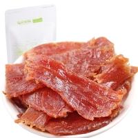 三只松鼠 肉干肉脯 休閑零食 豬肉脯自然片150g/袋子