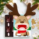怡浓(ENON)棒棒糖黑巧克力礼盒装圣诞节礼物休闲零食送女友 120g