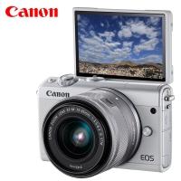 佳能(Canon)EOS M100 微单电可换镜相机(15-45镜头白色套机)(2420万像素 触控翻转LCD 全像素双核?#36234;梗?/>                                                                               </a>                 </div>                 <div class=