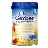 嘉宝(Gerber )香蕉苹果营养米粉二段(6个月至36个月适用)225g