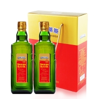 贝蒂斯特?#20923;?#27048;橄榄油,750mlx2瓶