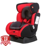 gb好孩子高速汽车儿童安全座椅 欧标五点式安全带 双向安装 CS718-N003 红黑灰适用年龄(0-7岁)