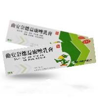 曲安奈德益康唑乳膏(邦力),15g:0.15g:15mg