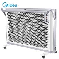 美的(Midea)取暖器/电暖器/电暖气家用 立式壁挂居浴两用 浴室防水 电热炉 欧式快热炉NDK20-18AW