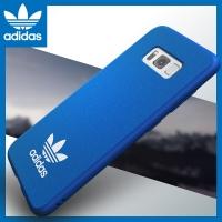adidas (阿迪达斯)三星S8 edge S8+手机壳 原装正品 三叶草时尚简约经典潮牌 超薄硅胶防摔PU防滑保护套