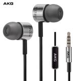爱科技(AKG)K374U 入耳式耳机 线控手机耳机 HIFI音乐耳机 带麦克风话筒 通用 银色