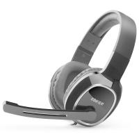 漫步者(EDIFIER)K815 高音质立体声通讯游戏耳麦 电脑耳机 游戏耳机 绝地求生耳机 吃鸡耳机 黑色