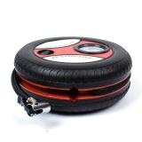 西渡 汽车打气泵 打气筒12V多功能迷你胎压计充气泵