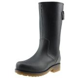 海天客(Halteke) 雨鞋男士时尚高筒雨靴胶鞋防水鞋 NS002 黑色 44码