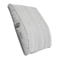 EPC 充气腰靠靠背垫 多用途充气枕头 护腰垫坐垫 出国旅行飞机坐车便携枕 灰色