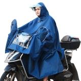 雷龙雨披 5612X电动摩托车雨衣电瓶车加长加大加厚单人雨披全包不湿脚男女成人 藏青