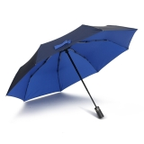 爱丽嘉(IDREAMY)全自动雨伞 男士商务折叠伞自开自收自动雨伞   蓝色  92451
